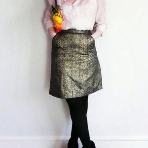 Tucker for Target brocade skirt